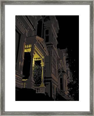 Midnight San Francisco Framed Print by Daniel Hagerman