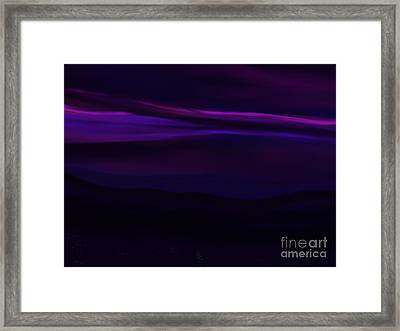 Midnight Skies Framed Print