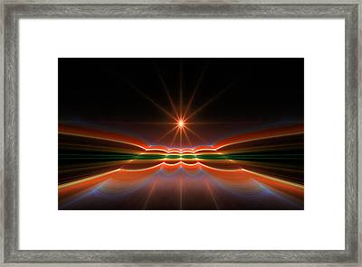 Midnight Sun Framed Print
