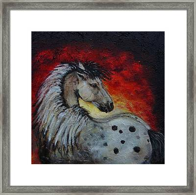 Midnight Sun Framed Print by The Art With A Heart By Charlotte Phillips