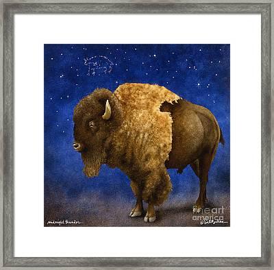 Midnight Thunder... Framed Print by Will Bullas