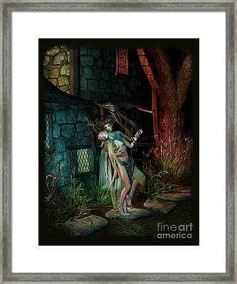 Midnight Visitor Framed Print
