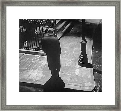 Midnight Walk Framed Print by Lyric Lucas