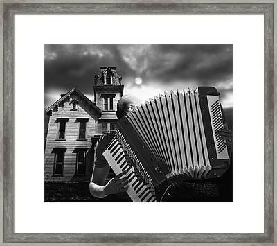 Zydeco Blues Framed Print by Larry Butterworth