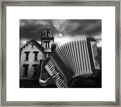 Zydeco Blues Framed Print