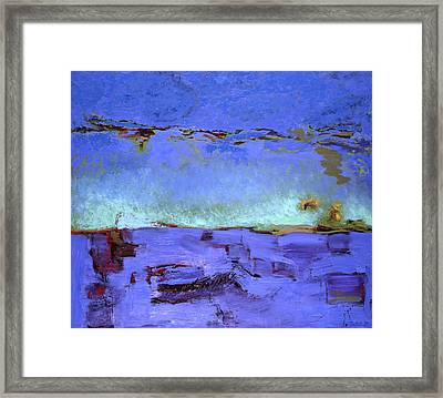 Midst Of The Water Framed Print by Mary Tudor