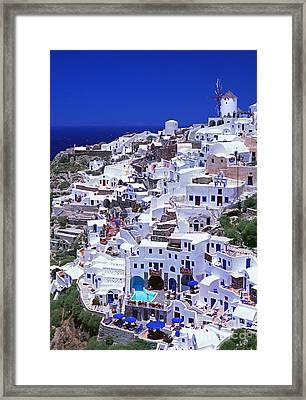 Midsummer Framed Print by Aiolos Greek Collections