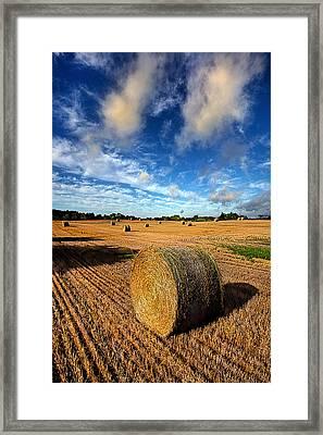 Midsummer Harvest Framed Print by Phil Koch