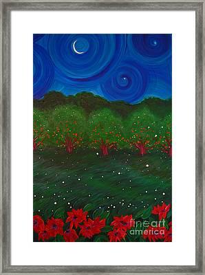 Midsummer Night By Jrr Framed Print by First Star Art