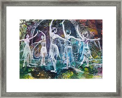 Midsummer's Eve Ballet Framed Print by Patricia Allingham Carlson