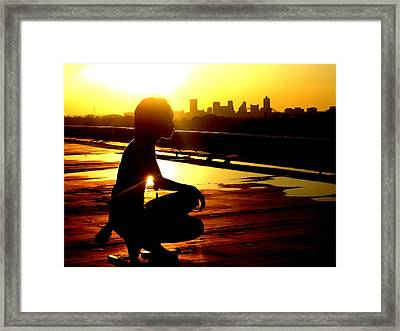 Midtown Is Memphis Framed Print