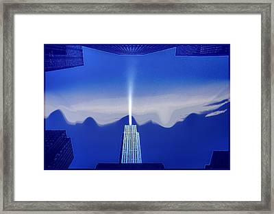 Midtown Scape Framed Print by Kellice Swaggerty