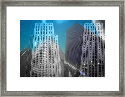 Midtown Sections Framed Print