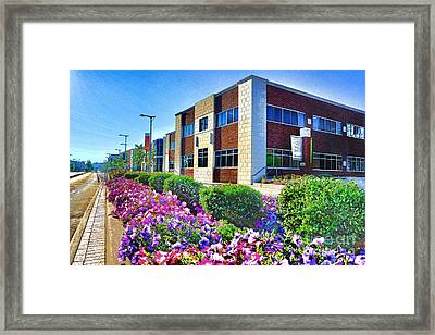 Geis Midtown Tech Park - Cleveland Ohio Framed Print