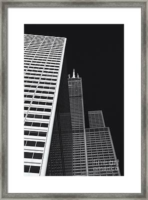 Midwest Monolith Framed Print by Dan Hefle