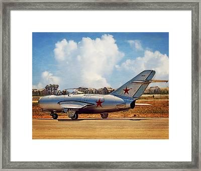 Mig-15 Framed Print