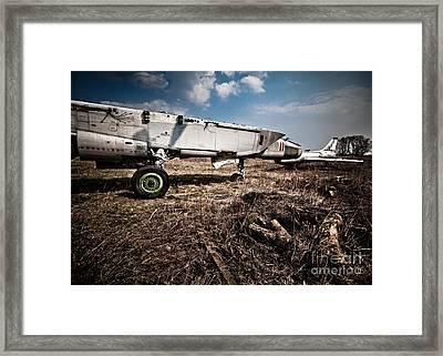 Mig 25 Framed Print