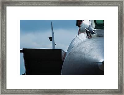Mig-31 Interceptor Framed Print by Alexander Senin