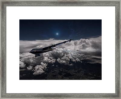Mig Killer Diamond Lil Framed Print by Peter Chilelli