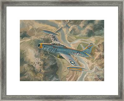 Mig Killer Framed Print by Randy Green