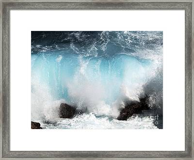 Might And Power Framed Print