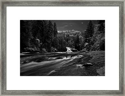 Framed Print featuring the photograph Might Get Wet by David Stine