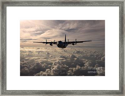 Mighty Hercules Framed Print by J Biggadike