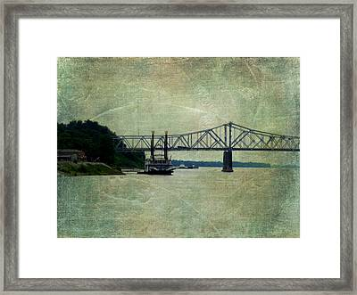 Mighty Mississippi Framed Print by Terry Eve Tanner