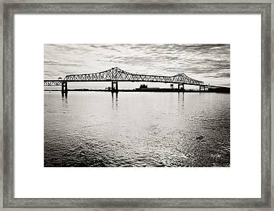Mighty River Framed Print by Scott Pellegrin