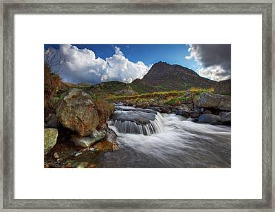 Mighty Tryfan  Framed Print