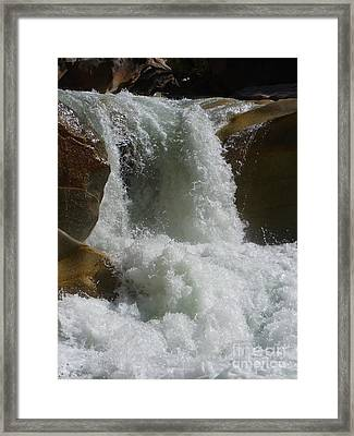 Mighty Waters Framed Print