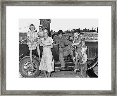 Migrant Workers, 1939 Framed Print by Granger