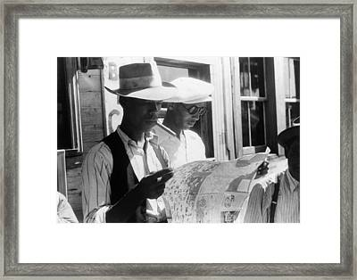 Migrant Workers, 1940 Framed Print by Granger
