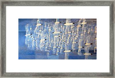 Migrate Framed Print by Charlie Baird