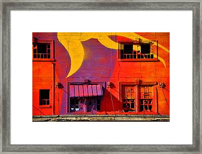 Migrate Detail 1 Framed Print by Matthew Chapman