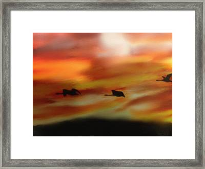 Migration Framed Print