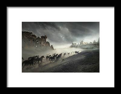 Kapadokya Framed Prints