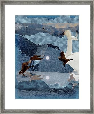 Migrations Framed Print