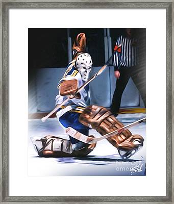 Mike Luit Framed Print by Mike Oulton