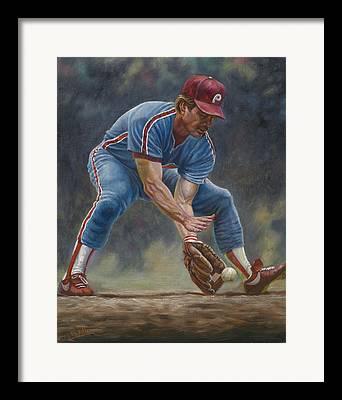 Steve Carlton Digital Art Framed Prints