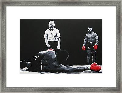 Mike Tyson 3 Framed Print