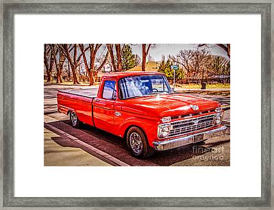 Mike's 66 Framed Print by Bob and Nancy Kendrick