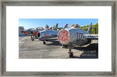 Mikoyan-gurevich Fagot Mig-15uti Framed Print by Gregory Dyer