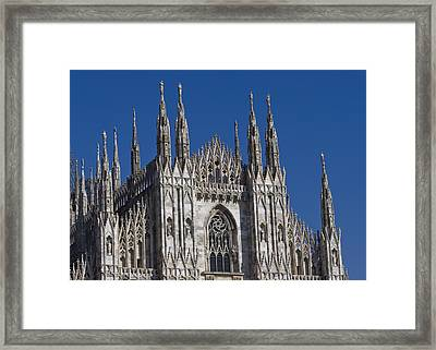 Milano Dome Detail Framed Print by Ioan Panaite