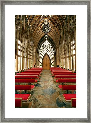 Mildred Cooper Chapel-1 Framed Print by Maxwell Amaro