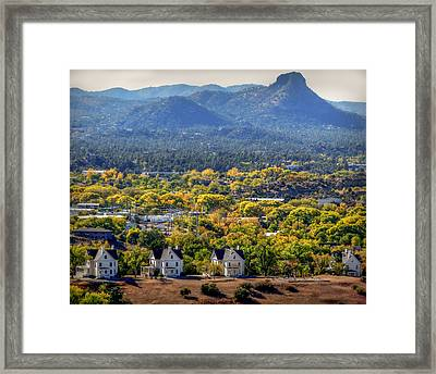 Mile High Autumn Framed Print
