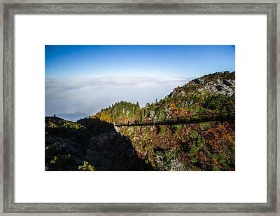 Mile High Bridge Framed Print by John Haldane