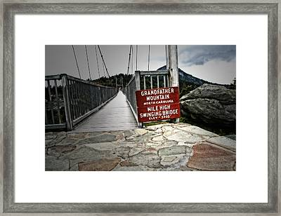 Mile High Framed Print