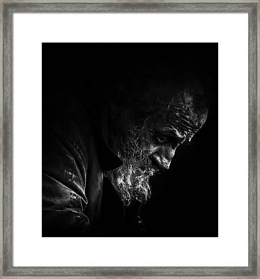 Mile In My Shoes Framed Print