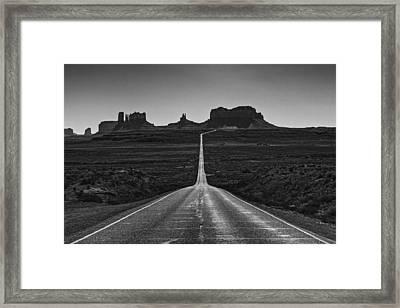 Mile Marker 13 Framed Print